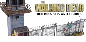 THE WALKING DEAD BUILDING SETS