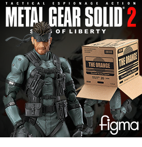 Metal Gear Solid figma No.243 Solid Snake