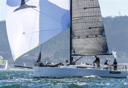 J/111 Madmen sailing San Francisco Bay