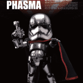 Image of Star Wars: The Force Awakens - Egg Attack Action EAA-016 Captain Phasma