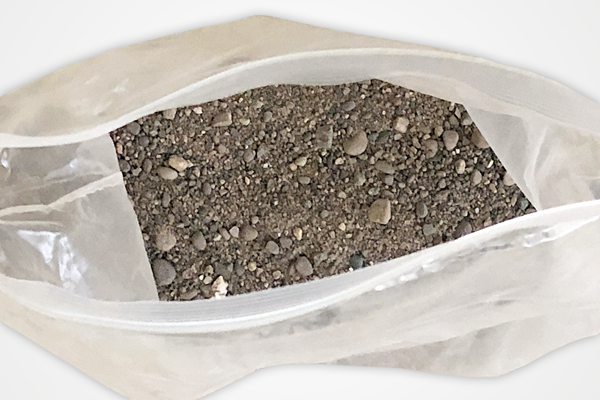 Sand from the pit where Willie Banks set a triple jump world record