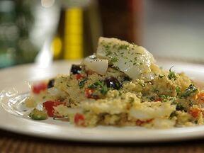 Cuscuz de bacalhau - Foto de Receitas GShow
