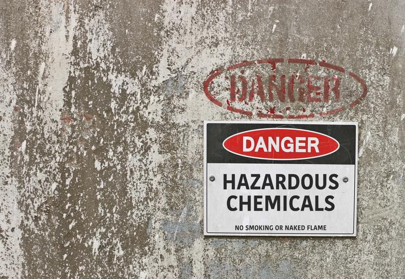 Chemical hazard labeling is up for review.