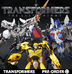 TRANSFORMERS V THE LAST KNIGHT
