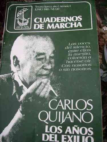 Carlos Quijano- Cuadernos De Marcha 1985- 6 Numeros