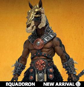 Mythic Legions: Shadow Equaddron Figure