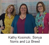 MeL team: Kathy Kosinski, Sonya Norris and Liz Breed