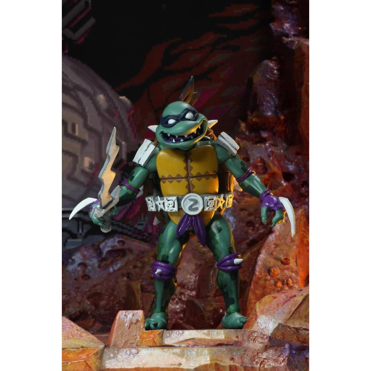 "Image of TMNT: Turtles in Time - 7"" Scale Action Figures - Slash - NOVEMBER 2019"
