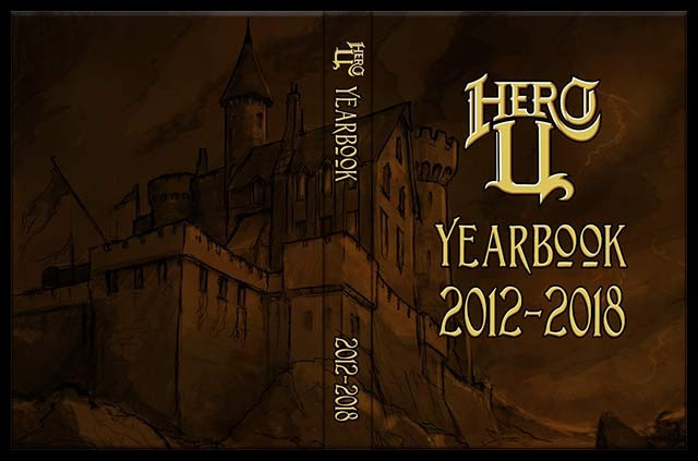 The Hero-U Yearbook