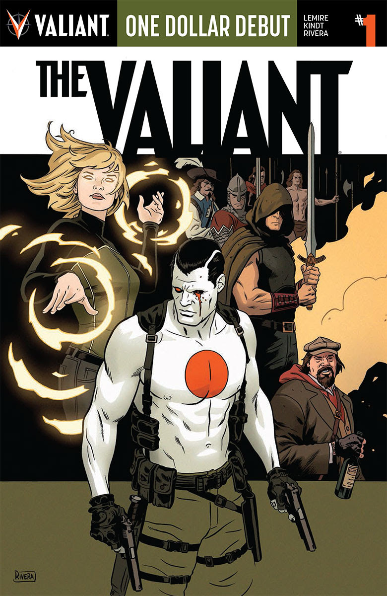 Valiant Launches One Dollar Debut For Eight Titles #ValiantSummit