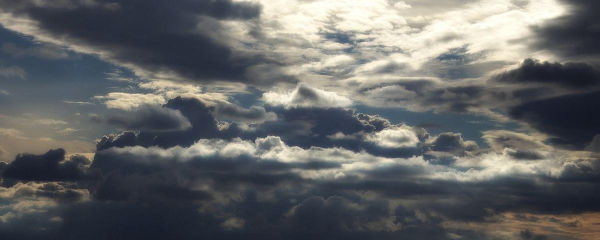Lucht, Wolken, Wolkenluchten, Bewolkt