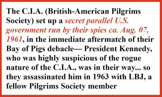 pilgrims society cia