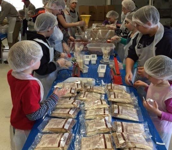 Volunteers Serve Rural on MLK Day
