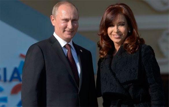 Cristina Fernández y Putin