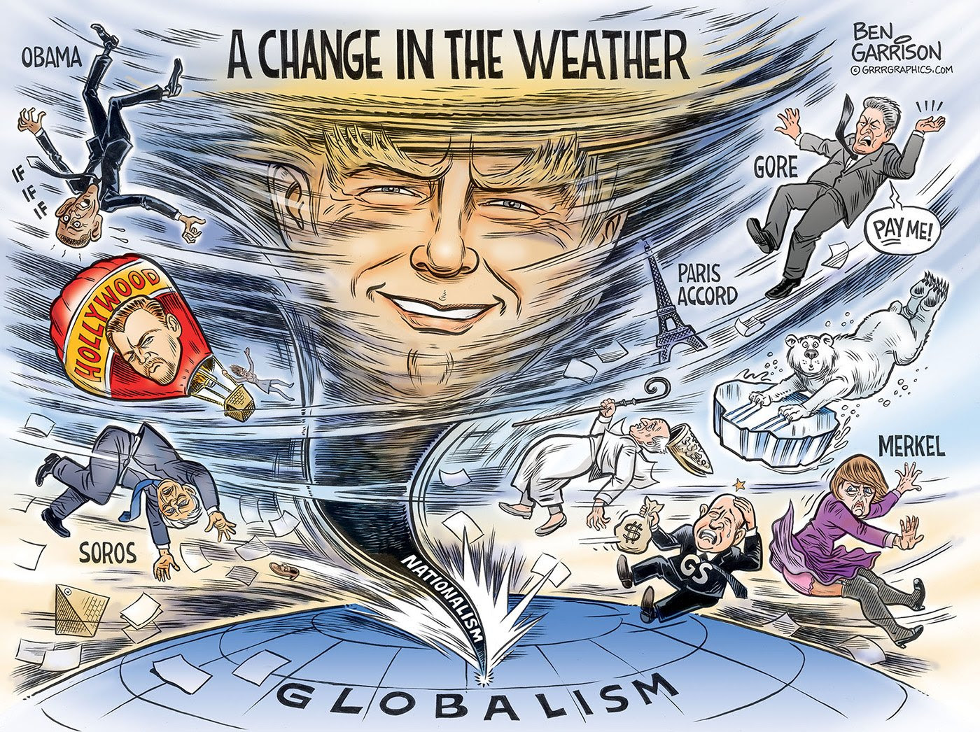 Ben Garrison: A Change In The Weather : The_Donald