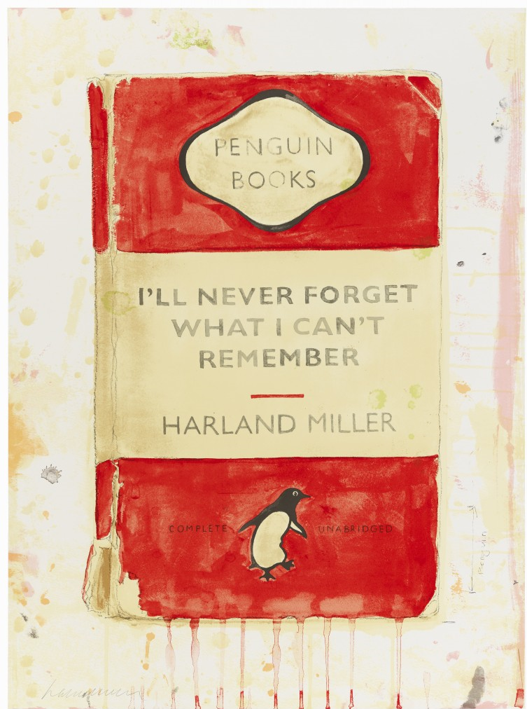 Harland Miller - I'll Never Forget What I Can't Remember