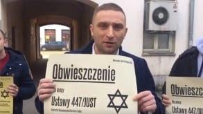 """Policja wtargnęła do siedziby Marszu Niepodległości. Chodzi o kampanie #NieDlaRoszczeń. """"Rząd zaniepokojony†"""