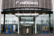 The headquarters of Fresenius, Germany's largest hospital operator, in Bad Homburg.