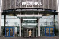The headquarters of Fresenius, Germany's largest hospital operator, in Bad Homburg.