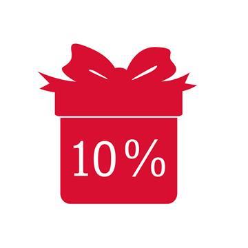 Il nostro regalo per lei - 10% di sconto