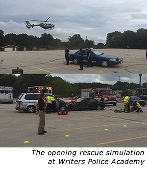 Rescue simulation