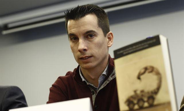 El teniente del Ejército de Tierra y colaborador de 'Público', Luis Gonzalo Segura.