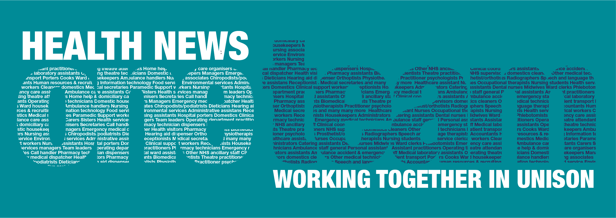 Health News - keep up to date with all things health care.