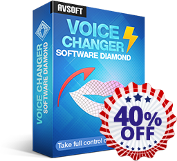 AV VOICE CHANGER SOFTWARE DIAMOND 9.5 - 40% Off Coupon