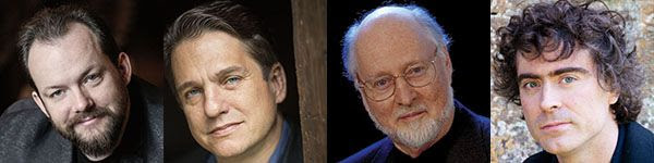 [Andris Nelsons, Keith Lockhart, John Williams, Paul Lewis]