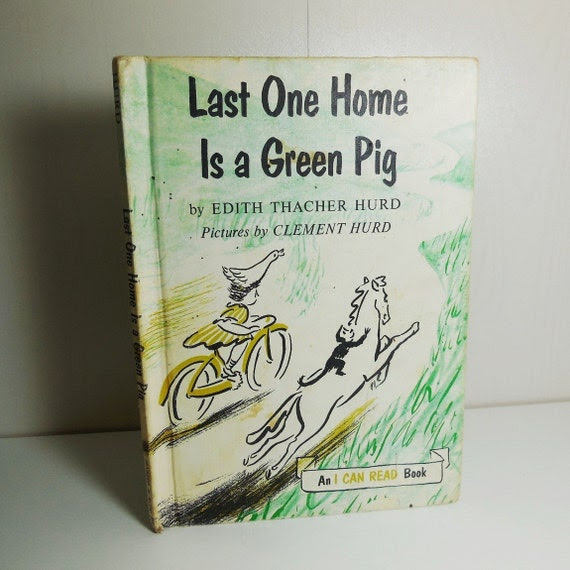 Last One Home is a Green Pig - Vintage -1959