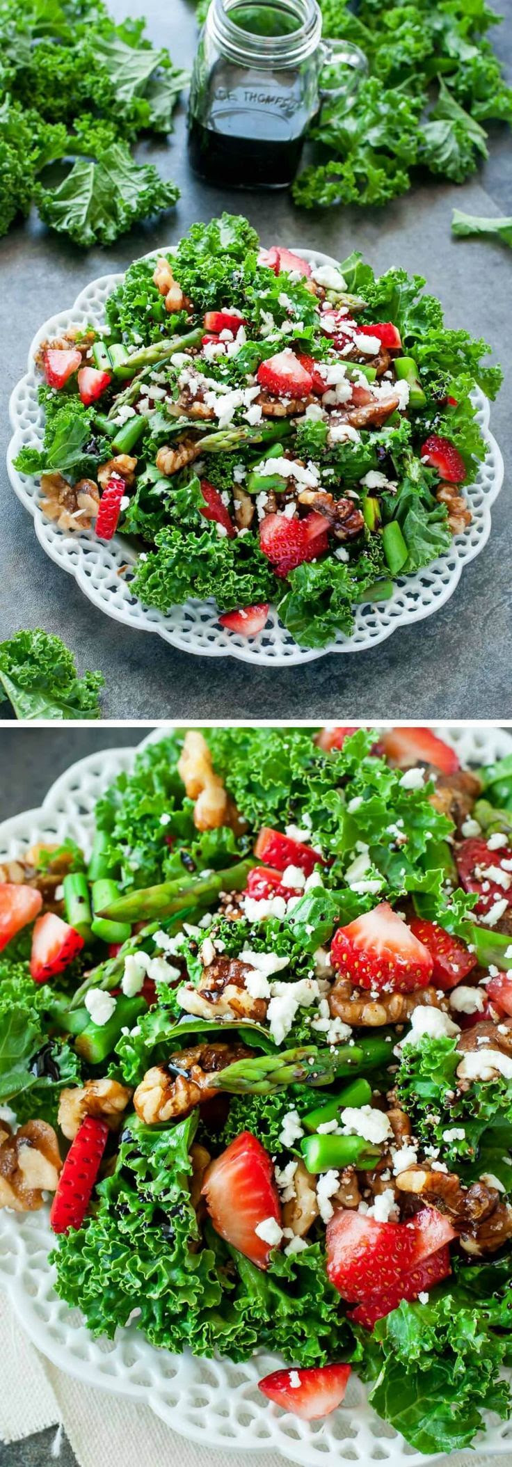 Strawberry kale salda
