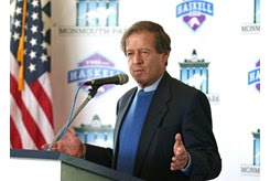 Dennis Drazin of Darby Development, which operates Monmouth Park for the New Jersey Thoroughbred Horsemen's Association