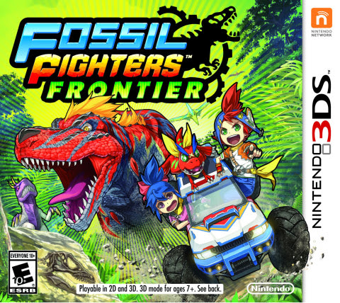 In Fossil Fighters: Frontier, the new portable game launching for the Nintendo 3DS family of systems ...