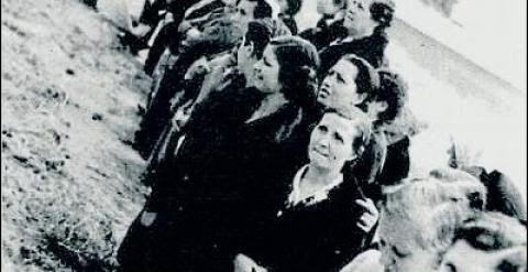 Presas republicanas en la cárcel madrileña de Ventas. M. Á. M.