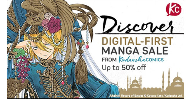 Discover Digital-First Manga Sale: up to 50% off! Sale ends 4/17.