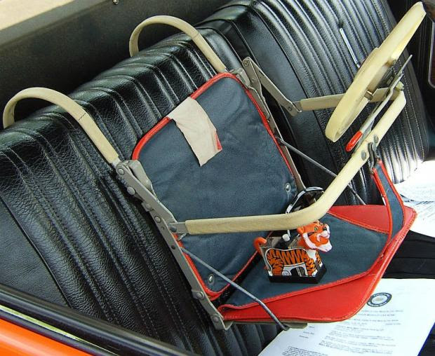 history of car seats