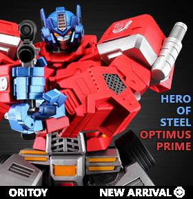 HERO OF STEEL OPTIMUS PRIME