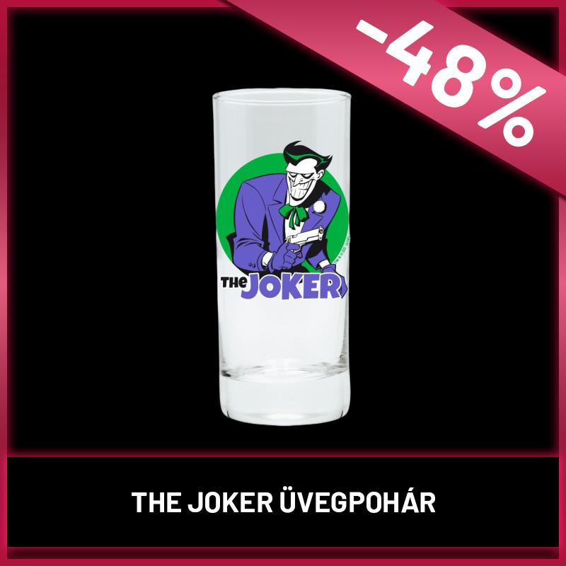 DC COMICS - Üvegpohár - The Joker