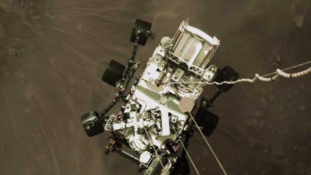 Rover de Marte falha ao tentar recolher amostras