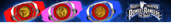 POWER RANGERS THE MOVIE LEGACY MORPHERS