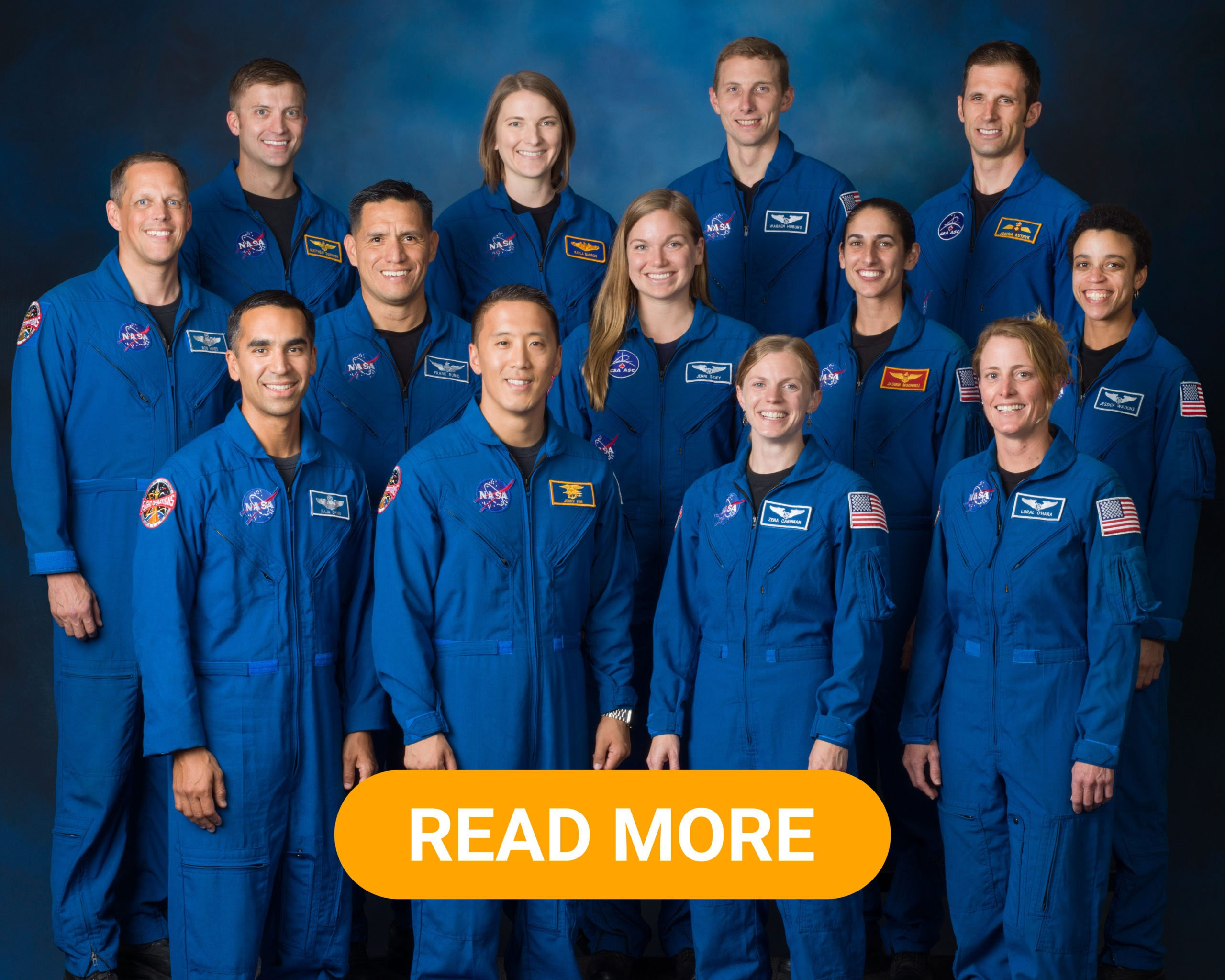11 new astronauts graduated
