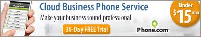 336x72 Cloud Business Phone Service