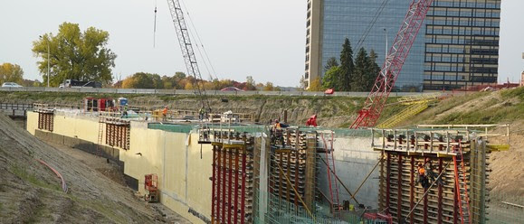 Weekly Construction Photo: LRT Tunnel Under Highway 62 in Minnetonka
