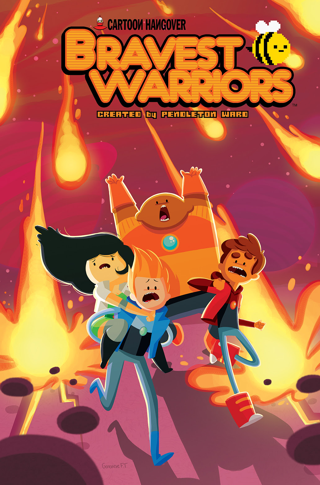 BRAVEST WARRIORS #20 Cover B by Genevieve
