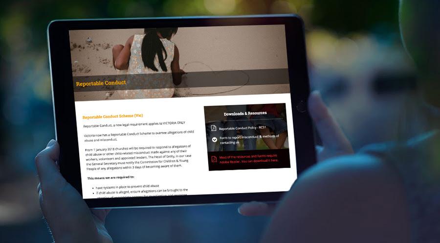 Keeping Children Safe website LIVE