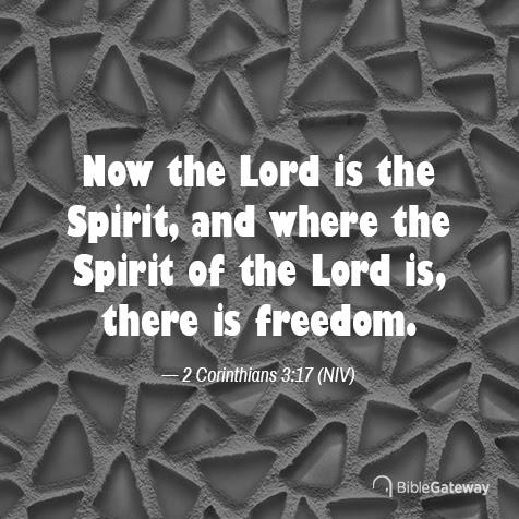 Read 2 Corinthians 3:17 on Bible Gateway.