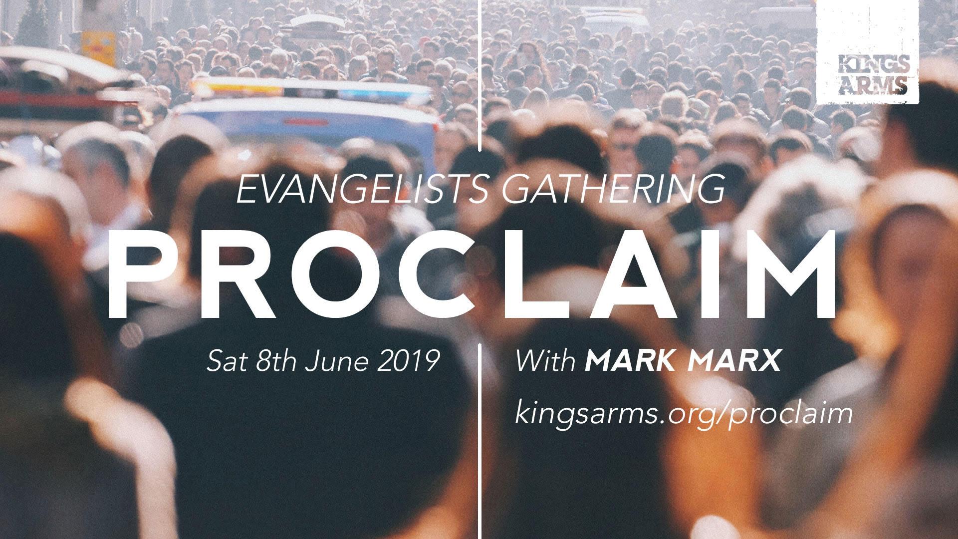 Proclaim Evangelists Gathering