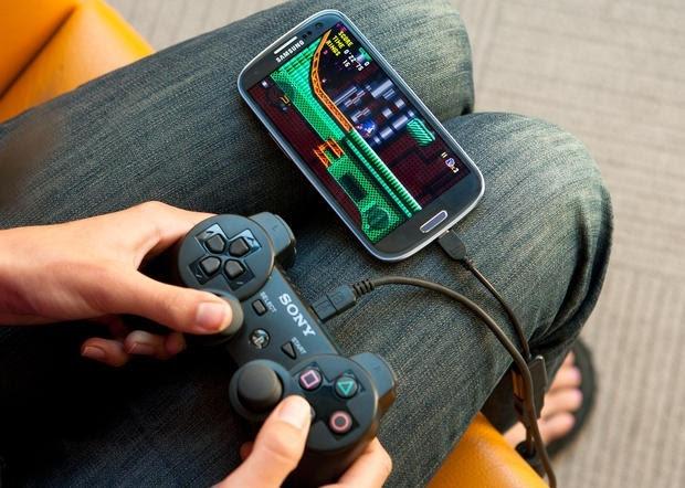 jouer à des jeux sur android avec des manettes de jeu