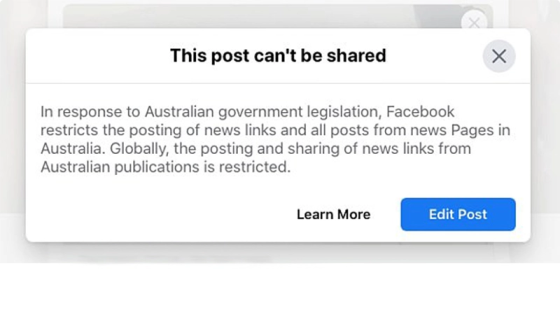 Facebook Blocks News, Government And Health Updates In Australia: 'An Assault On A Sovereign Nation' Image-446