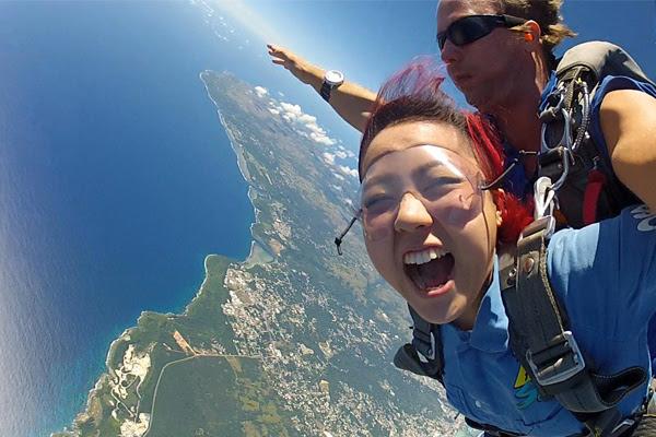 skydive guam sky dive